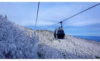 Bursa'da teleferiğe rüzgar molası