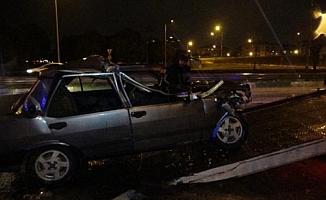Bursa'da sürücü, yaralı arkadaşlarını bırakıp kaçtı