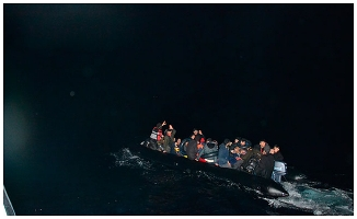 Çanakkale'de kaçak göçmenler yakalandı