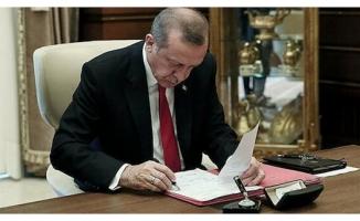 Cumhurbaşkanı Erdoğan'ın kararları Resmi Gazete'de