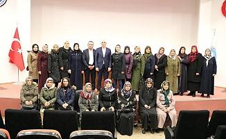 Kadın üreticilerden Marmarabirlik tesislerine ziyaret
