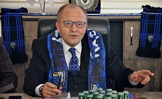 Karacabey Belediyespor Başkanı Ülker'den kararlı sözler