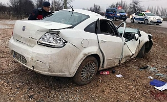 Konya Ereğli'de feci kaza!