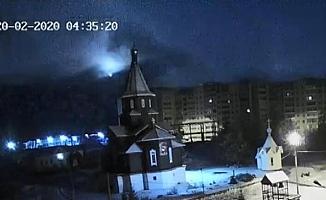 Rusya'da meteor düştü