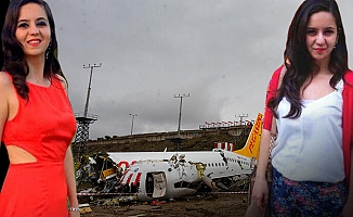 Uçak kazasında kahreden detay!