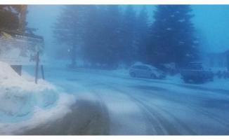 Zirvede kar sürprizi!