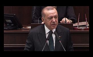 Cumhurbaşkanı Erdoğan'dan yanıt