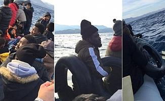 Göçmenlerin denizde yaşam mücadelesi