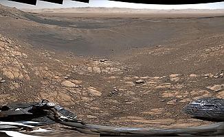 NASA ilk kez panoramik  görüntü yayınladı!