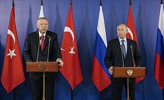 Putin ve Erdoğan Moskova'da görüşecek