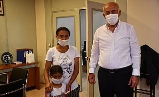 Başkan Tuncel örnek iyiliğe kayıtsız kalmadı