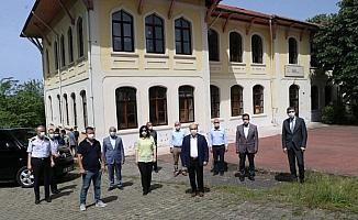 Düzce Protokolü'nden Akçakoca'ya ziyaret