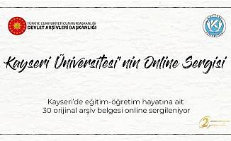 Kayseri Üniversitesi'nden Online Sergi