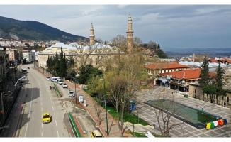 Bursa'da LGS kısıtlamasında sokaklar boş kaldı