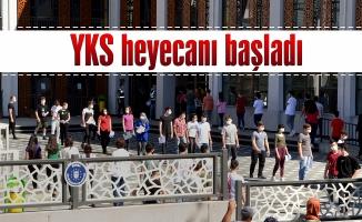 Bursa'da YKS heyecanı başladı.
