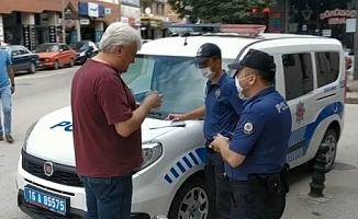 Bursa'da maske takmayanlara ceza yağıyor