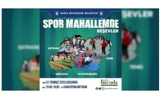 Büyükşehir'le spor her yerde