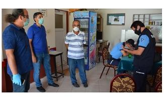 Gemlik Belediyesi'nin koronavirüs denetimleri sürüyor