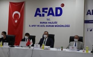 """Güllüoğlu: """"Bursa, afet tehlikesi yüksek illerden bir tanesi"""""""