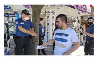 Karadenizli polis memuru, şivesiyle gülümsetti