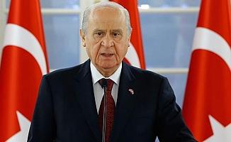 MHP lideri Devlet Bahçeli'den Ayasofya açıklaması