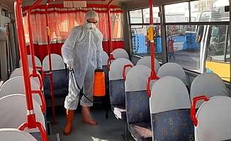 Toplu taşımada koronavirüs tehlikesine dikkat