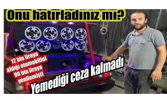 Bursa'da modifiyeli araca ceza üzerine ceza
