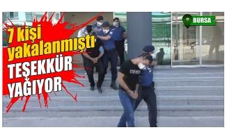 Bursa'da narkotik operasyon yaptı, vatandaş teşekkür mesajı attı!