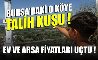 Bursa'da yerli otomobilin üretileceği fabrika yakınındaki köyde ev ve arsa fiyatları arttı