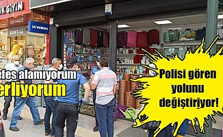 Bursa'da polisi gören yolunu değiştiriyor