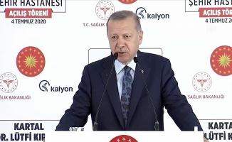 Cumhurbaşkanı Erdoğan'dan asker uğurlaması açıklaması!