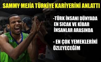 Parkelere veda eden Sammy Mejia, Türkiye kariyerini anlattı