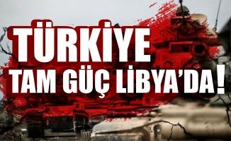 Türkiye tam güç Libya'da!