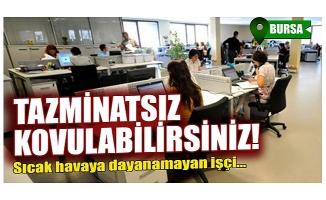 Yargıtay'dan Bursa'da emsal karar! Mesaide uyuyanlara kötü haber geldi
