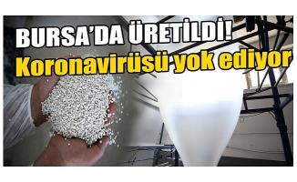 Bursa'da ambalaj firmasından koronavirüsü yok eden kimyasal formül
