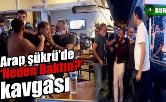 Bursa'da Arap Şükrü'de kavga çıktı!