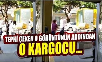 Bursa'da kargocunun işine son verildi