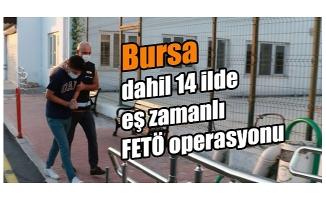 Bursa dahil 14 ilde FETÖ operasyonu: 27 kişi hakkında gözaltı kararı