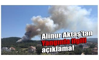 Bursa'daki yangınla ilgili Belediye Başkanı Aktaş'tan açıklama