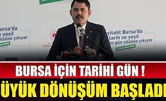 Bursa'nın tarihi mekanları gün yüzüne çıkıyor