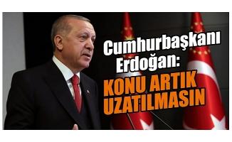 Cumhurbaşkanı Erdoğan'dan İstanbul Sözleşmesi talimatı