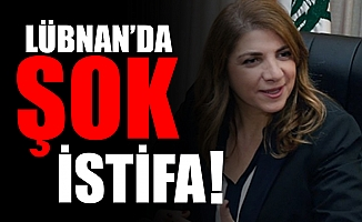 Lübnan'da şok istifa !