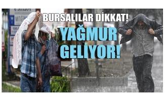 Meteoroloji'den Bursa için yağış uyarısı! (8 Ağustos 2020 Bursa'da hava durumu nasıl?)
