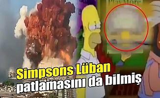 Simpsons'daki Lübnan benzeri patlama detayı olay oldu