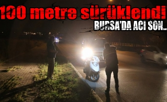 Bursa'da motosiklet kazası: 1 ölü