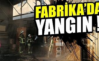 Bursa İnegöl'de fabrika yangını!