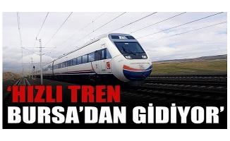 """MHP'li meclis üyesi Durdu: """"Hızlı tren Bursa'dan gidiyor"""""""