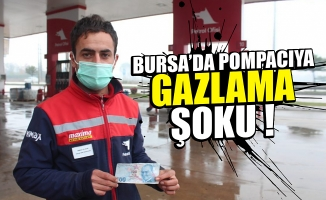 Bursa'da pompacıya sahte para verip gazladı