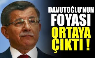 Davutoğlu'nun foyası kendi partisi tarafından ortaya çıkarıldı
