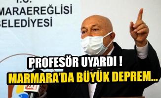 Profesör Ercan: Marmara'da büyük deprem Tekirdağ'da olacak